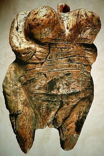 Venus of Hohle Fels er mellom 40 000 og 35 000 år gammel og ble funnet i Tyskland.