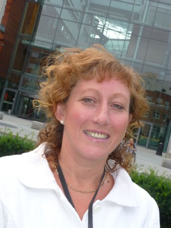 Gillian Warner-Søderholm. (Foto: (Foro: Audun Farbrot))