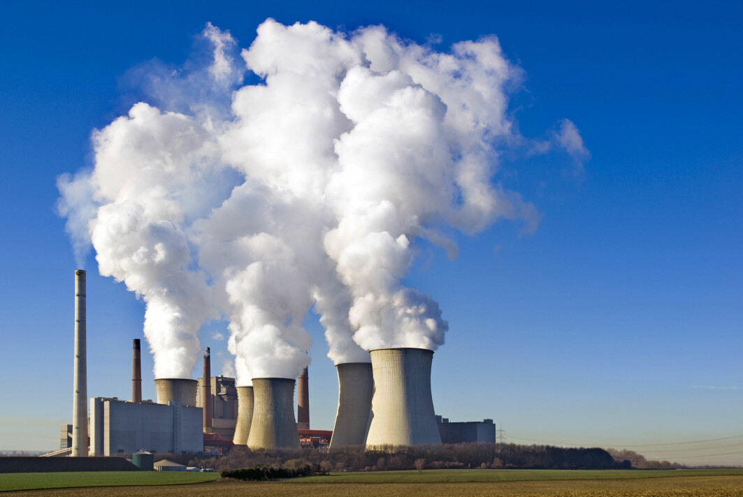 Koronapandemien har mange steder ført til en nedgang i strømforbruket. I mange land produserer man mye strøm ved kullkraftverk, hvilket fører til store CO2-utslipp. På dette bildet vises et kullkraftverk i Tyskland.