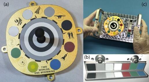 Danske forskere har sendt tegninger og hemmelig beskjed til Mars