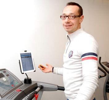 Paolo Zanaboni ved Nasjonalt senter for samhandling og telemedisin har forsket på oppfølging av kolspasienter som har vært til rehabilitering. (Foto: Randi Laukli)