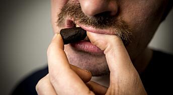 Stabil snusbruk blant unge voksne i Norge