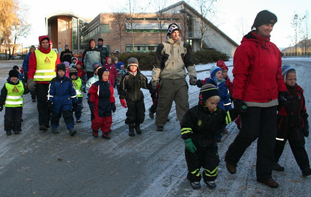 Dagens førskolelærerutdanning oppleves god på tema som lek, læring og omsorg. (Foto: Anne Sigrid Haugset)