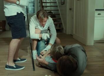 Michael Hanekes film Funny Games er et eksempel på den nye bølgen ekstrem film. Dette bildet er fra den amerikanske versjonen med Tim Roth i hovedrollen. (Foto: Filmweb)