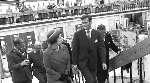 Da dronning Elizabeth nesten fikk norsk kvikkleire på kåpa