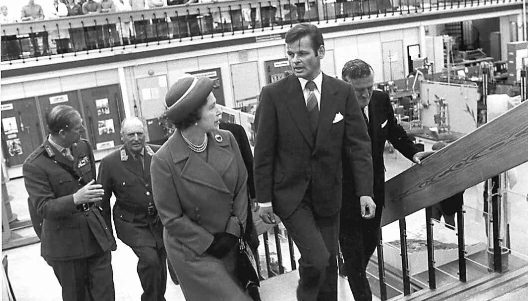 NGIs daværende direktør, Kaare Heøg, tok imot den kongelige delegasjonen. Han mener det ikke er tilfeldig at det britiske kongehuset valgte å besøke NGI.