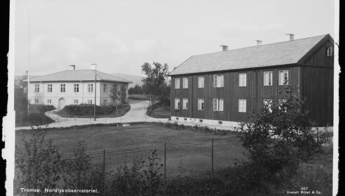 Nordlysobservatoriet i Tromsø ble åpnet i 1930.