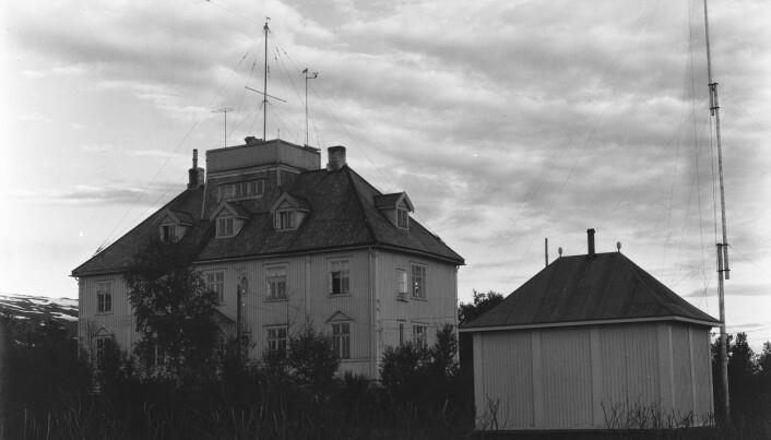 I 1918 ble bygningen som på folkemunne bar navnet «Geofysen» bli reist. Den skulle senere huse Værvarslinga for Nord-Norge.