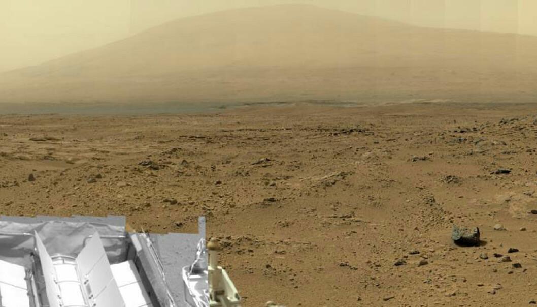 Gigantisk bilde fra Mars