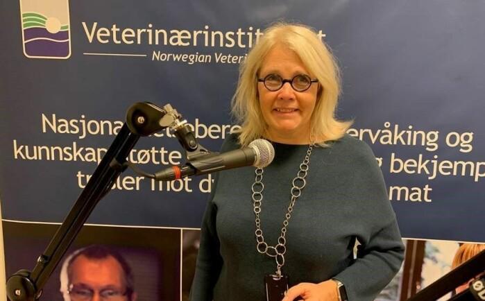 Ida Skaar, seksjonsleder for Forskning, kjemi og toksinologi ved Veterinærinstituttet.