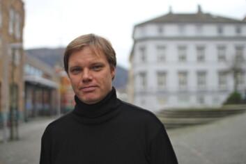 Asbjørn Grønstad er professor i visuell kultur på Universitetet i Bergen. (Foto: Walter Wehus)