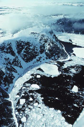 """""""Hudson-bukta i Canada var nok enda mer isdekket for 20 000 år siden."""""""