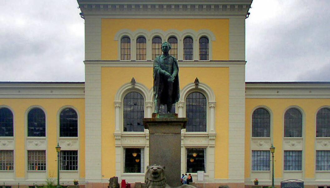 Universitetet i Bergen har lenge ønsket seg ny aula, men fikk ikke noen bevilgninger til dette på neste års statsbudsjett. Floflo/Wikimedia Commons