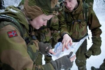 Et lag har nytte av andre egenskaper enn styrke. Her er soldater under Forsvarets opptak og seleksjon i 2012. (Foto: FMS)