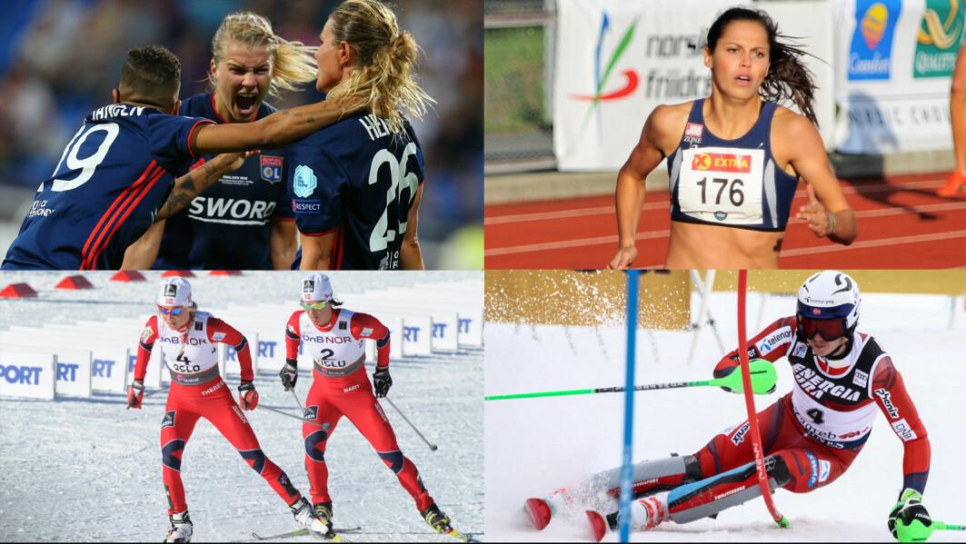 Verdens-enerne i idrettsverdenen har valgt helt ulike veier for å komme dit de er i dag.