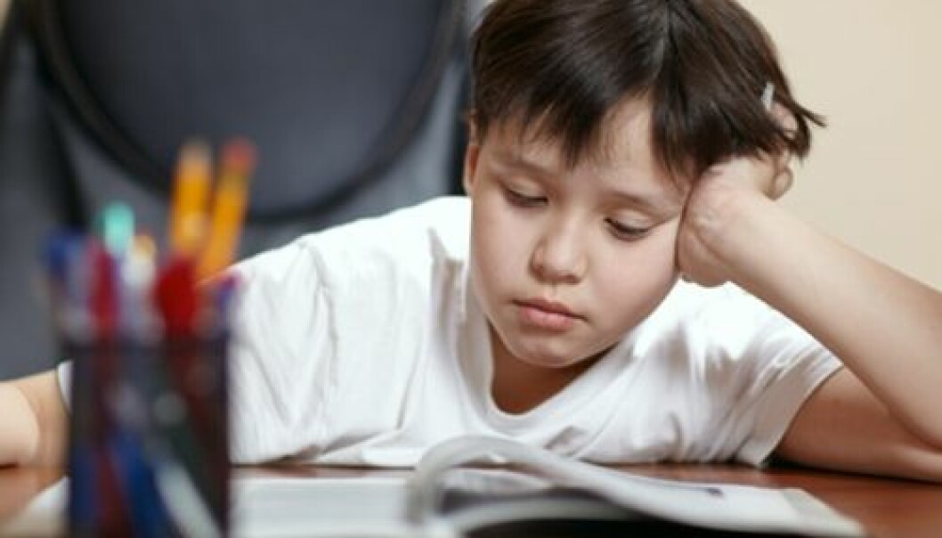 En av de aller viktigste faktorene for at et barn skal lykkes på skolen, er at både foreldre og lærere har forventninger til at barnet skal lære. (Foto:Colorbox)