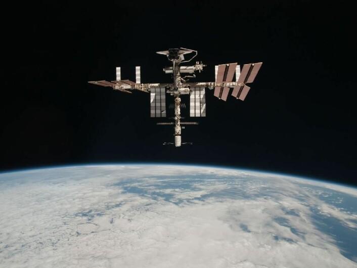 ISS. (Foto: Paolo Nespoli/ESA/NASA)