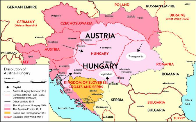I Sørøst-Europa har landegrenser endret seg gjennom de siste hundreårene. Særlig i grenseområdene har innbyggerne vært vant til å snakke flere språk.