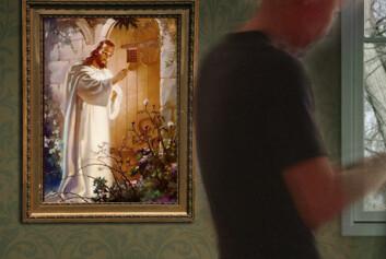 Nå kan pasienter ta Gud med seg inn i terapirommet. (Foto: (Illustrasjon: Annica Thomsson))