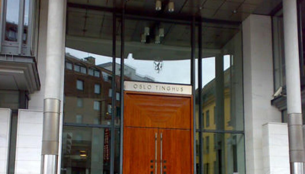 """Oslo tinghus. Bjoertved/Wikipedia. <a href=""""http://no.wikipedia.org/wiki/Fil:OsloTinghus01.jpg"""">Klikk her for å gå til lenken</a>"""