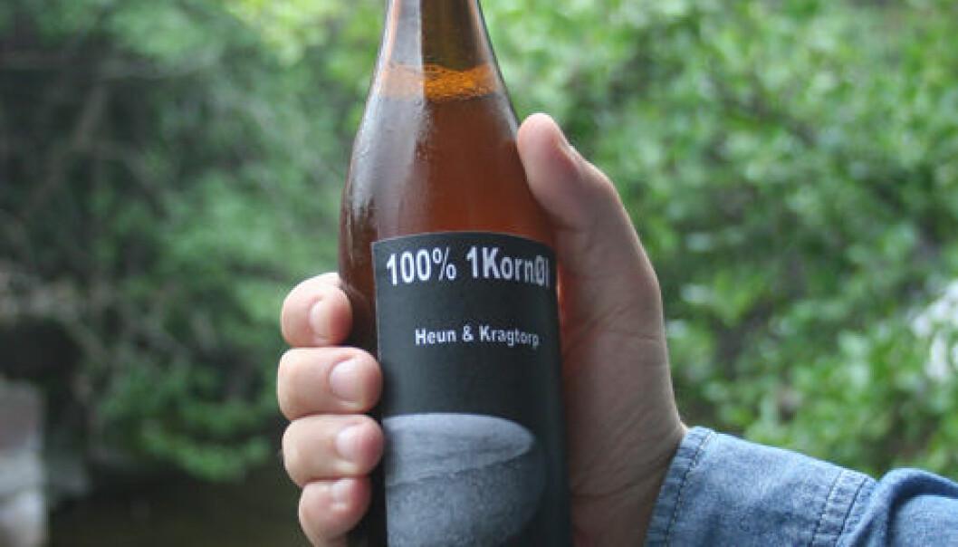 Einkornøl laget av Manfred Heun og Jørn Kragtorp. Asle Rønning