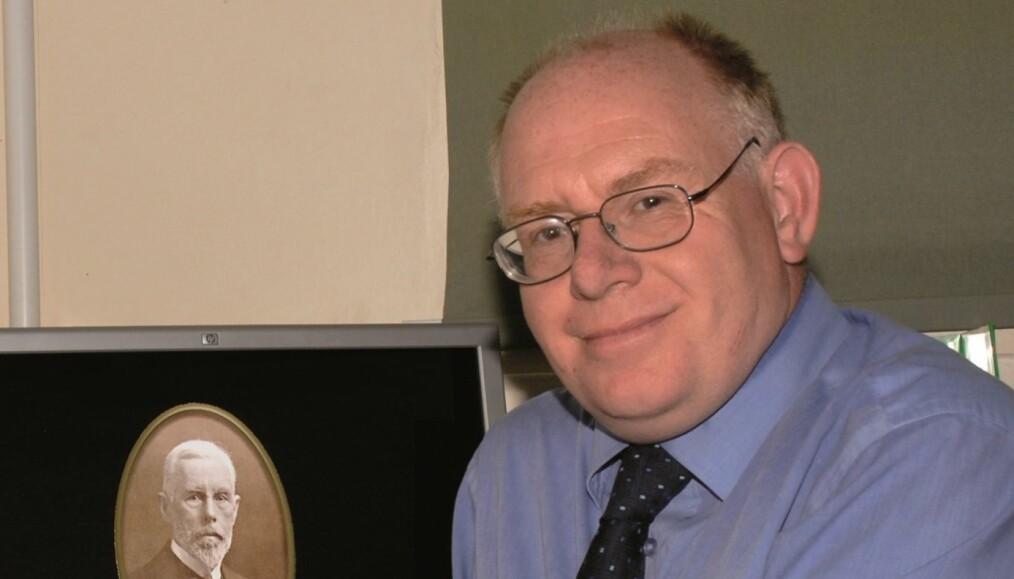 Vincent Gaffney, professor i landskapsarkeologi ved Bradford-universitetet.
