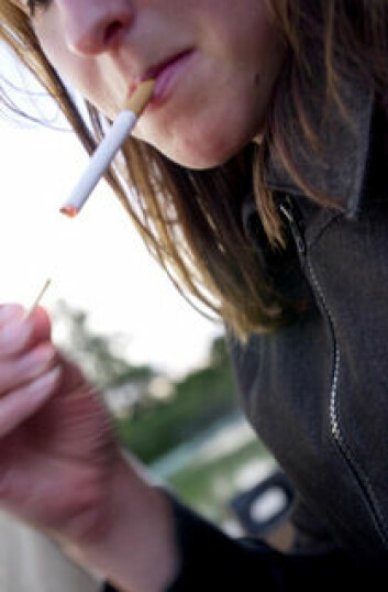 Funnene tyder på at av-og-til-røyking oftest er en forbigående aktivitet. Foto: SIRUS/Nye bilder