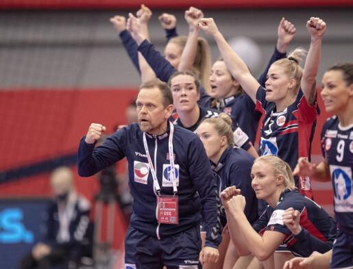 Håndball-EM: Knuser Norge konkurrentene på bedre ledelse?