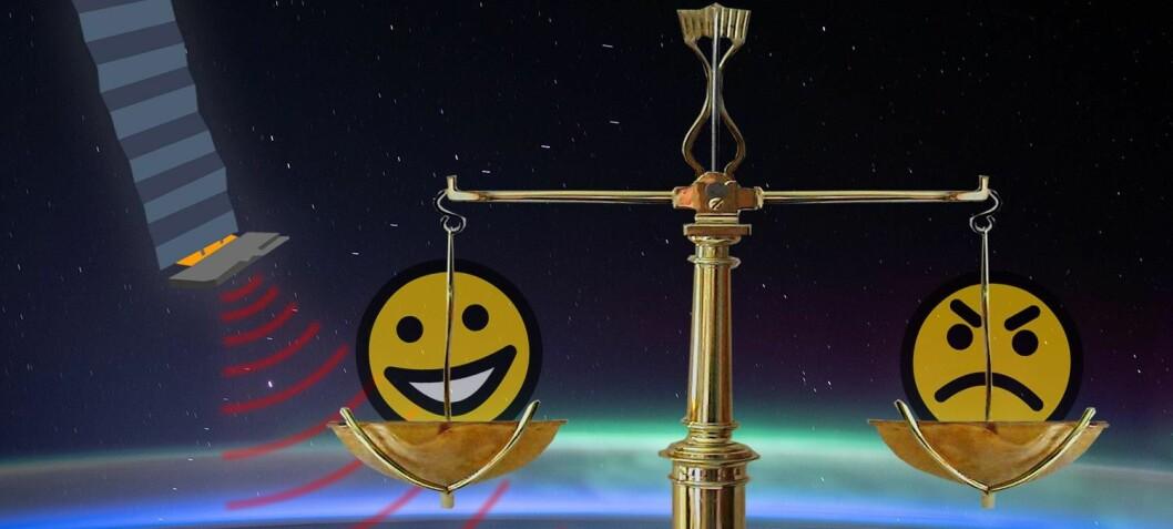 Starlink – et himmelsk dilemma