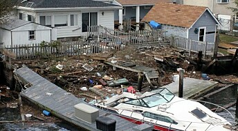 – Orkanen Sandy kan bli like dyr som 11. september