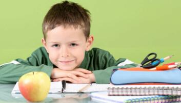 Gratis skolefrukt gir sunnere spisevaner