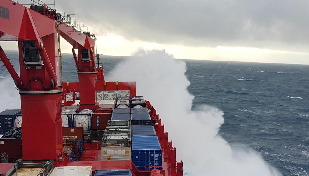 I ruskevær over Atlanteren