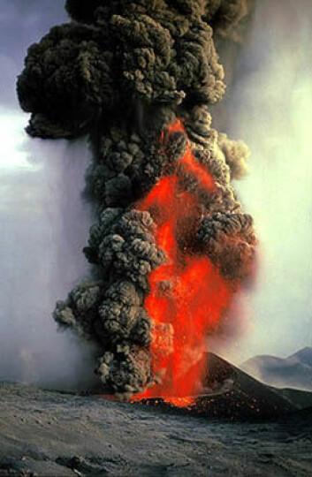 """""""Takket være energien i lavastrømningene gnisser jordskorpeflakene mot hverandre. Dette kalles platetektonikk."""""""