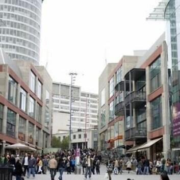 Birmingham, en av byene som er med i prosjektet. (Foto: www.colourbox.no)