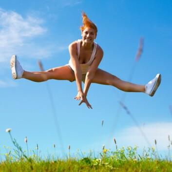 Ungdom som er fornøyd med kroppen har fokus på hva de kan bruke den til, ikke hvordan den ser ut. (Foto: Colourbox)