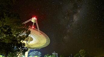 Forskere har oppdaget et radiosignal som ser ut til å komme fra vårt nærmeste stjernesystem