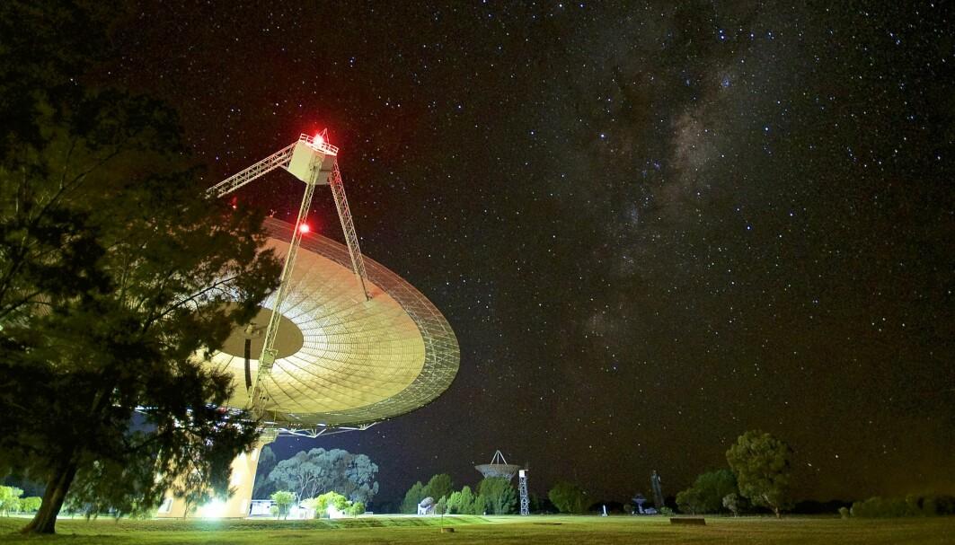 Det var ved radioteleskopet Parkes Observatory i New South Wales, Australia, at den uvanlige strålingen ble registrert.