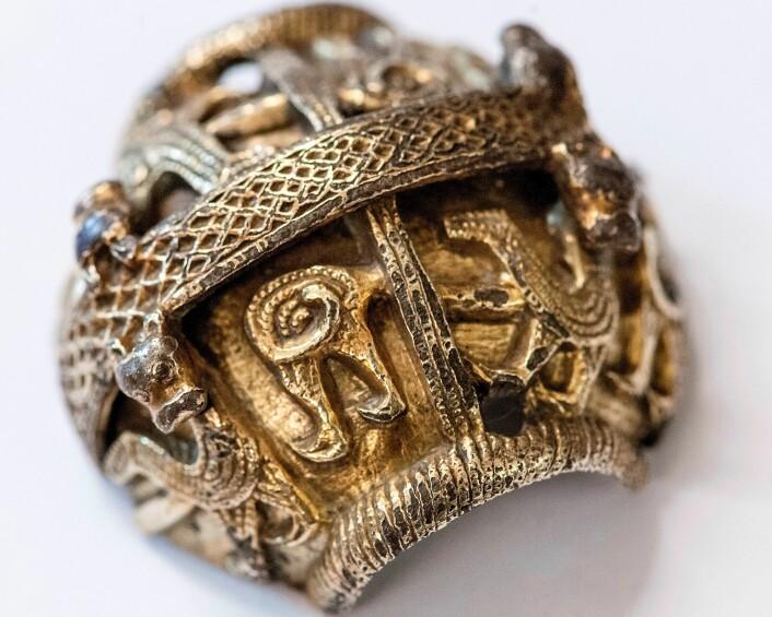 Om ikkje norske vikingar hadde stole den britiske bispestaven, ville han mest truleg gått tapt. (Foto: Åge Hojem/NTNU Vitenskapsmuseet)