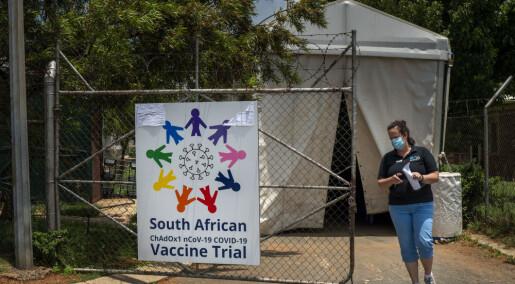 Ny virusmutasjon oppdaget i Sør-Afrika