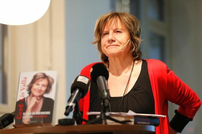 Gerd-Liv Valla hadde etter eget utsagn støttespillere som lot seg intervjue, men som ikke kom på trykk. (Foto: Scanpix, Cornelius Poppe)