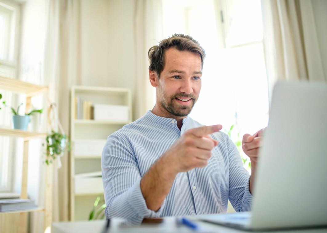Digitale møter betyr lavere terskel for å bli med fordi man kan sette av mindre tid. Det krever ikke mye å «stikke innom» et digitalt møte.