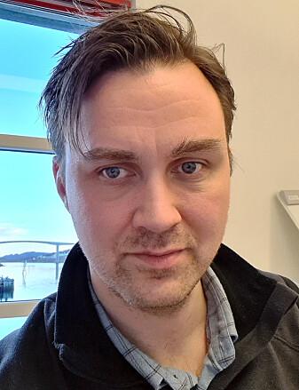 Forsker Asbjørn J. Fagerlund ved Nasjonalt senter for e-helseforskning.