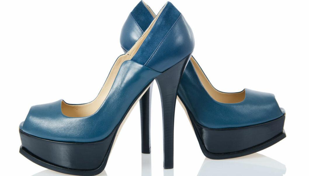 Fotplager kan skyldes høye hæler