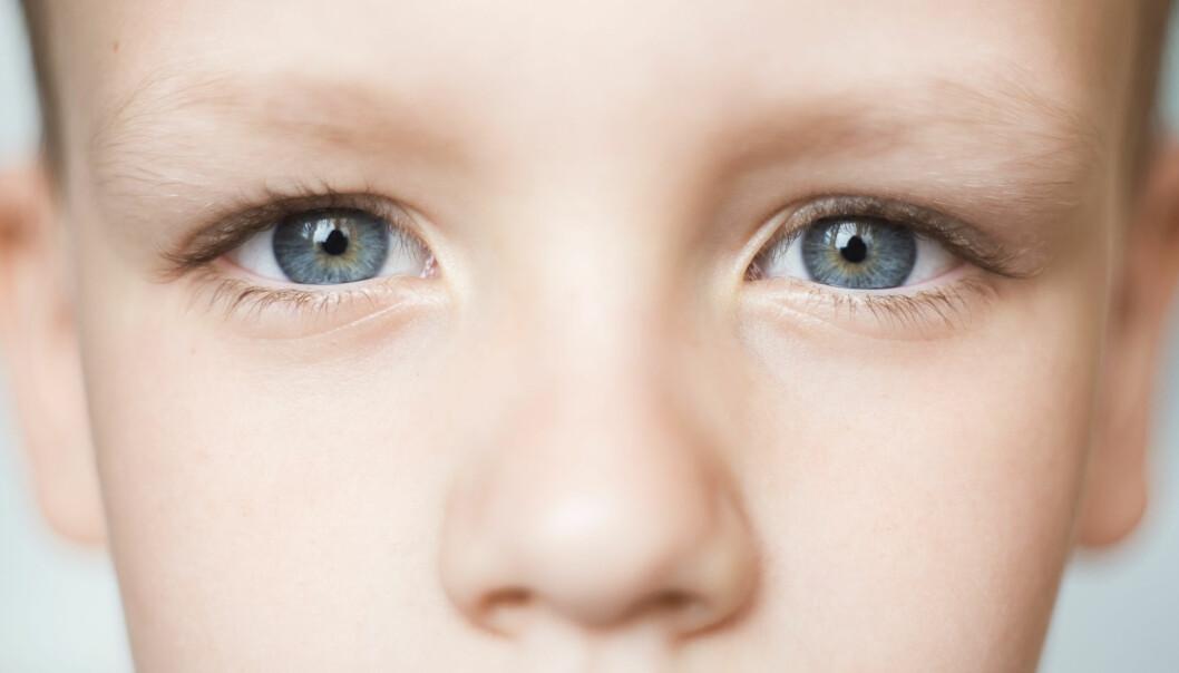 Pupillen din blir større når du løser vanskelige oppgaver.