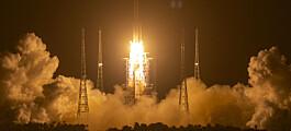 Kina sendte opp ny romrakett – satser på gjenbruk