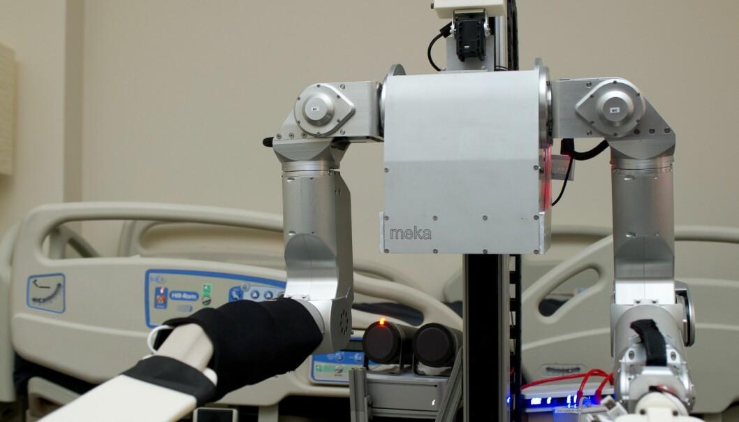 Sykepleierroboten Cody (Foto: Rob Felt/Georgia Tech)