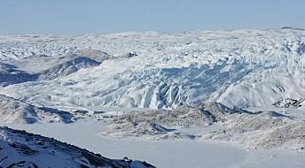 Grønland smelter mer enn tidligere antatt