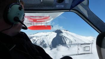 Avoid-kameraet i testflyvning over vulkanen Etna. (Foto: (Adam Durant, NILU))