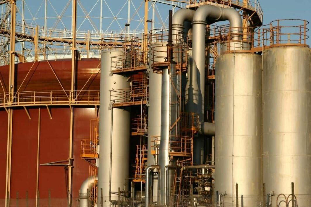 Grønn energi. Spillvarme fra industrien trenger ikke å forsvinne rett ut i lufta.
