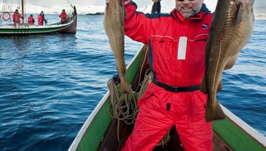 Turister melder fra om egen fiskelykke